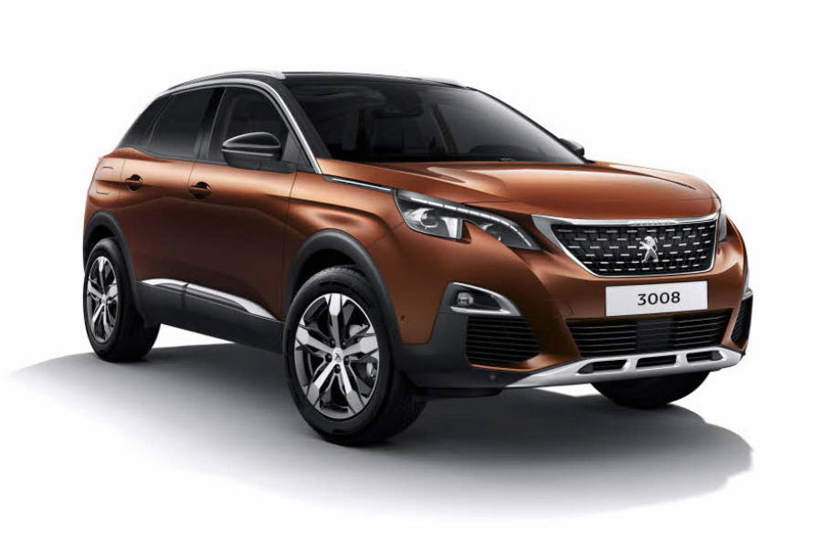 Peugeot 3008 from Condor Self Drive