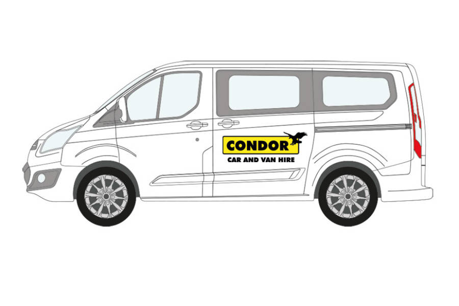 Volkswagen Transporter from Condor Self Drive