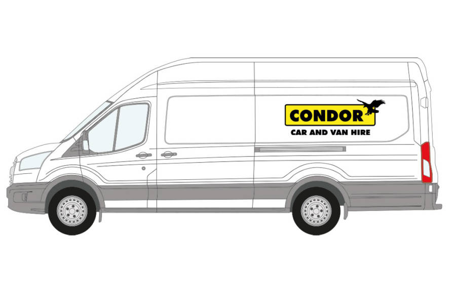 Ford Transit for hire from Condor Self Drive
