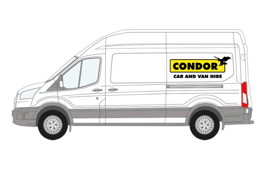 Ford Transit from Condor Self Drive