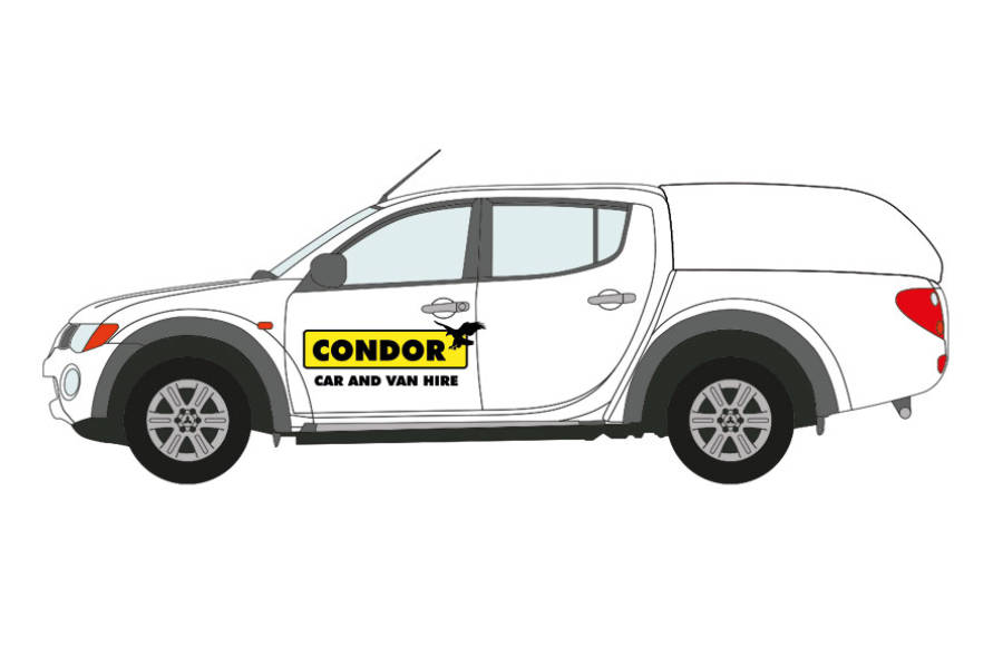 Toyota Hi-lux from Condor Self Drive