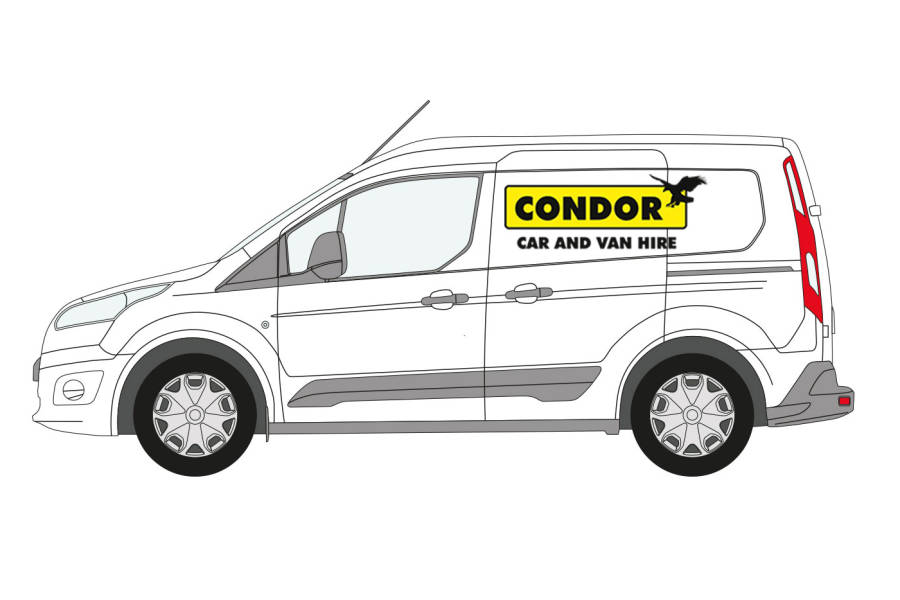 Ford Connect for hire from Condor Self Drive